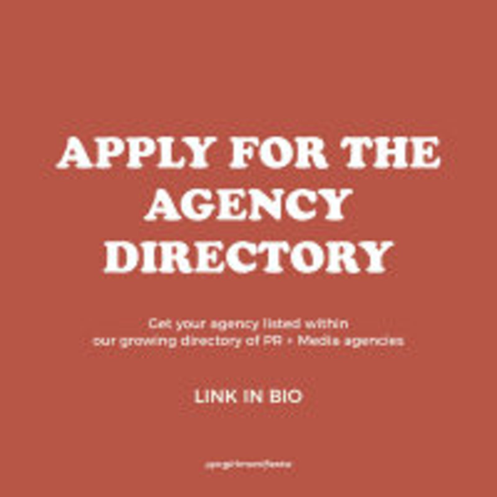 Apply To Our Agency Directory