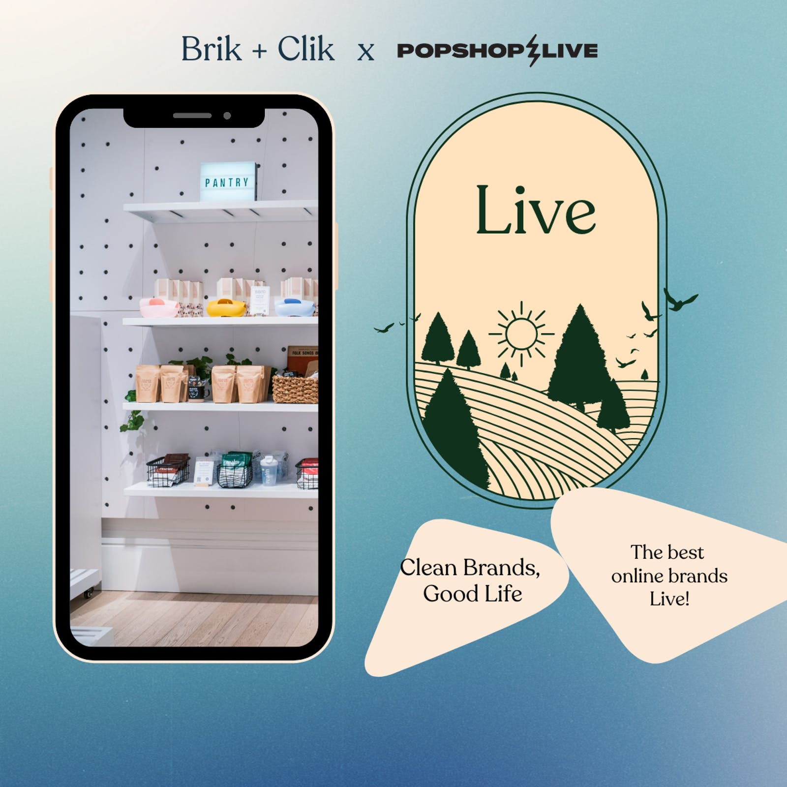 Clik Live - Live Stream Shopping