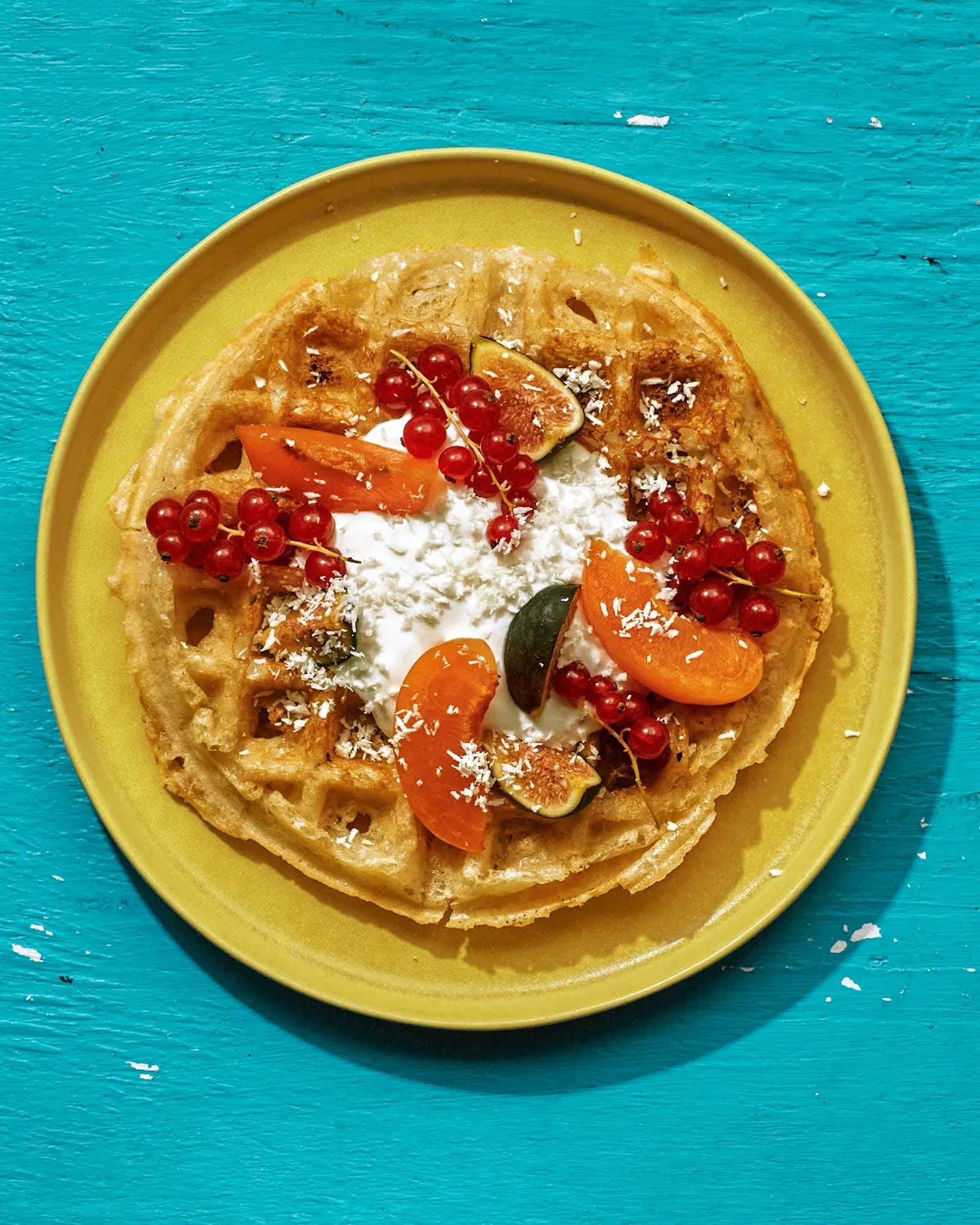 Bon Appetit - October 2021 - Heads of the Table - Bibingka Waffles